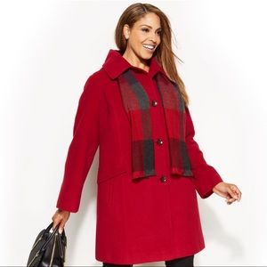 Calvin Klein Wool Winter Pea Coat
